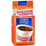 Dunkin' Donuts French Vanilla Flavored Ground Coffee- 12 Ounces