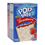 Pop Tarts Toaster Pastries, Strawberry, 8 pk- 1.84 oz
