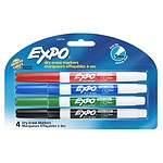 Expo Dry Erase Markers Fine Tip- 4 Each