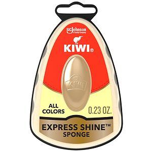 Kiwi Express Shine Instant Shoe Shine Sponge, Neutral- .23 fl oz