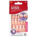 Kiss Everlasting French Glue-On Nails Kit, Clear Pink, Petite Length