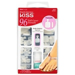 Kiss Salon Results Full Cover Toenails Kit