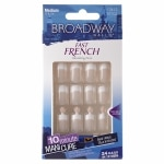 Broadway Nails Fast French Glue-On Nail Kit