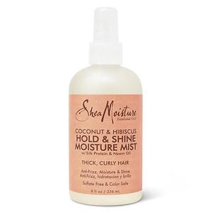 SheaMoisture Coconut & Hibiscus Hold & Shine Moisture Mist, 8 Ounces