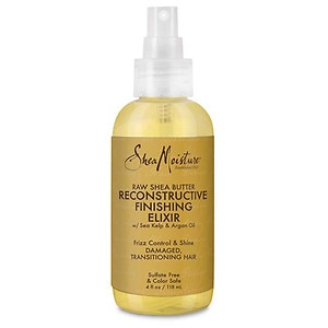 SheaMoisture Raw Shea Butter Reconstructive Finishing Elixir- 4 Ounces