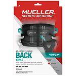 Mueller Sport Care Adjustable Lumbar Back Brace, Maximum Support,
