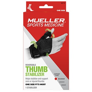 Mueller Sport Care Thumb Stabilizer Black