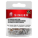Singer Safety Pins- 225 ea