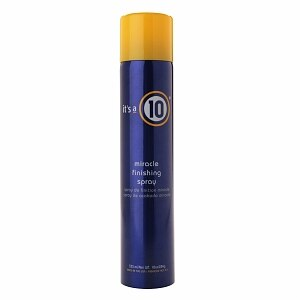 it's a 10 miracle finishing spray, 10 fl oz