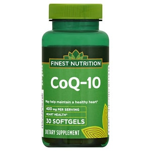Finest Nutrition CO Q-10 400mg, Softgels, 30 ea