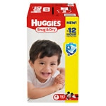 Huggies Snug & Dry Diapers, Economy Plus Pack, Size 4- 192 ea