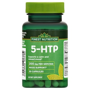 Finest Nutrition 5-HTP 100Mg, Capsules- 30 ea