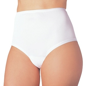 Wearever Women's Cotton Comfort Panty, XL 3 Pack, White