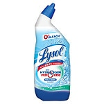 Lysol Power & Free Toilet Bowl Cleaner, Cool Spring Breeze- 24 fl oz