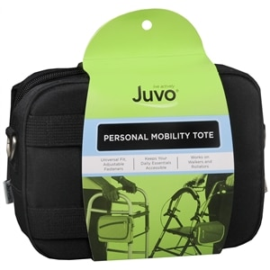 JUVO Personal Mobility Tote Quilted, Black- 1 Each