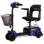 Shoprider Scootie 4 Wheel Scooter, Blue