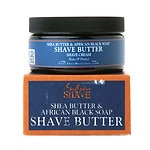 SheaMoisture Shave African Black Soap Shave Creme- 6 oz