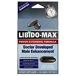 Applied Nutrition Libido-Max Power Extending Formula Male Enhancement Liquid Soft-Gels- 30 ea
