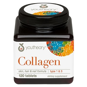 Youtheory Collagen Dietary Supplement Tablets