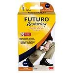 FUTURO Restoring Men's Firm Over the Calf Dress Socks Navy, Large- 1 oz