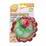 Raz Baby Raz-Berry Silicone Teether for 3+ Months- 1 ea