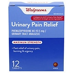 Walgreens Urinary Pain Relief Tablets- 12 Each