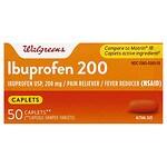 Walgreens Ibuprofen 200 Caplets- 50 Each