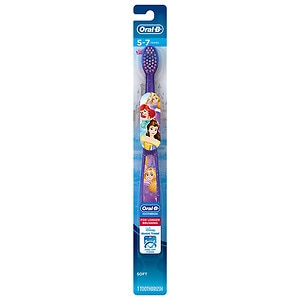 Oral-B Stages Pro-Health Disney Princess Kid's Soft Toothbrush, Ages 5-7