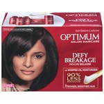 Optimum Care Salon Collection Anti-Breakage No-Lye Relaxer System, Super- 1 kit