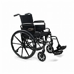 Everest & Jennings Traveler Lightweight Wheelchair with Flip Back
