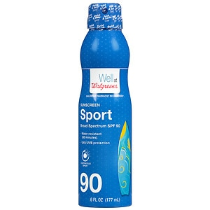 Walgreens Sport Continuous Spray Sunscreen, 6 Ounces