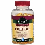 Finest Nutrition Fish Oil 1200 mg Dietary Supplement Softgels, 44