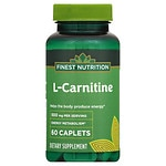 Finest Nutrition L-Carnitine 500 mg Dietary Supplement Tablets