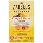 ZarBee's Naturals Cough & Throat Relief Daytime Drink Packets, Apple Spice- 6 ea