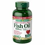 Nature's Bounty Fish Oil 1000 mg Dietary Supplement Rapid Release