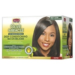 African Pride Olive Miracle Conditioning Anti-Breakage Hair Relaxer Kit- 1 kit
