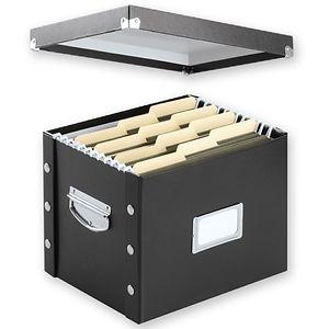 Snap-N-Store File Storage Box- 1 Each
