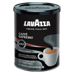 Lavazza Ground Coffee, Cafe Moulu, Regular, 8 oz