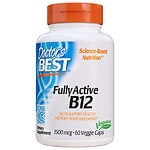 Doctor's Best Fully Active B12 1500 mcg, Veggie Caps