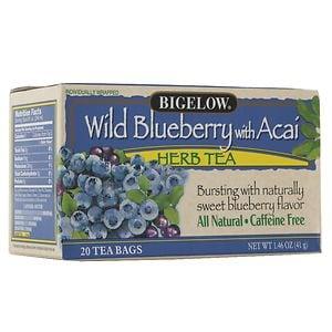 Bigelow Herb Tea, Wild Blueberry w/ Acai
