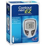 CONTOUR NEXT Blood Glucose Monitoring System, Gray- 1 ea
