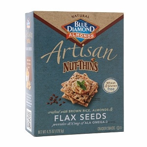 Blue Diamond Nut-Thins Artisan Nut-Thins, Flax Seed