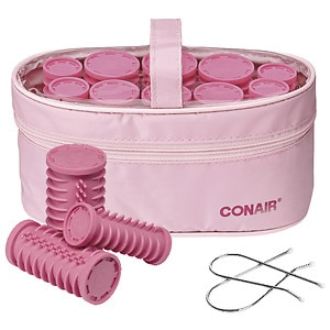 Conair Instant Heat Compact Hair Setter, Model HS10X, 10 Count (3 sizes)