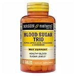 Mason Natural Diabetes Trio Alpha Lipoic Acid, Fenugreek, Chromium, Tablets- 60 ea