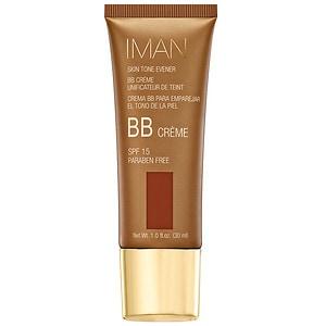 IMAN Skin Tone Evener BB Cream SPF 15, Earth Deep