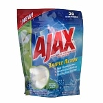 Ajax Triple Action Automatic Dishwasher Detergent, Green Apple