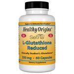 Healthy Origins L-Glutathione Reduced 250 mg, Capsules