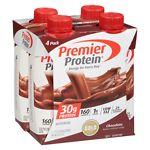 Premier Protein 30g Protein Shakes, 11 oz Cartons, 4 pk, Chocolate- 11 oz