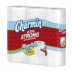 Charmin Ultra Strong Bath Tissue, Mega Rolls