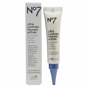 Boots No7 Lift & Luminate Eye Cream